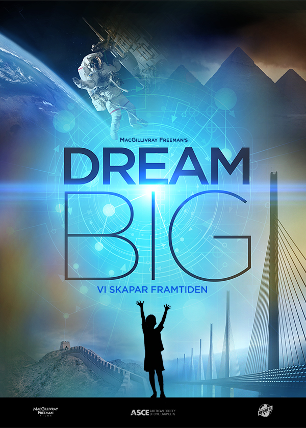 filmaffisch för Dream Big