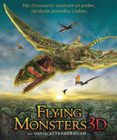 Affisch Flying Monsters 3D